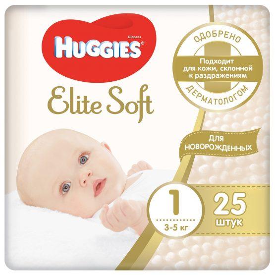 Huggies Elite Soft 1 — 25
