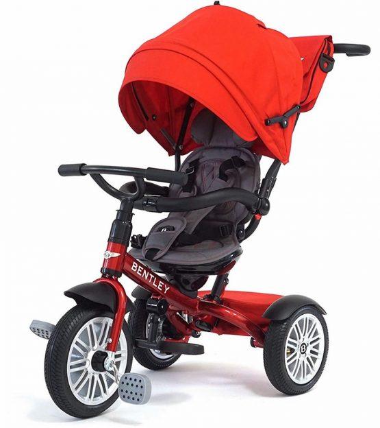 Bentley 6-in-1 Մանկասայլակ-հեծանիվ —  կարմիր